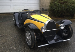 BUGATTI 55 ROADSTER  Fabrication de La Chapelle