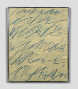 Cy TWOMBLY 1928-2011 Roman notes I (Issue de Roman Notes) - 1970