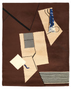 "Eileen GRAY ÉCART INTERNATIONAL (éditeur) (1878-1976) Tapis ""Collage"""