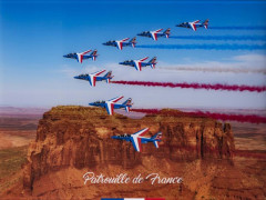 PATROUILLE DE FRANCE - US TOUR 2017 Katsuhiko Tokunaga (Né en 1957) Monument Valley