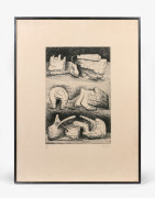 Henry MOORE (1898 - 1986) Three sculpture motives - 1970