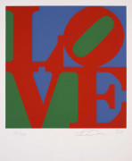 Robert INDIANA (Né en 1928) Love - 1997