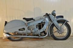 c.1928 New Motocycle 500 cm3 ex Musée du Gérier collection Serge Pozzolli  No reserve