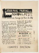 Journal mural. Nixon la peste - Mai 68