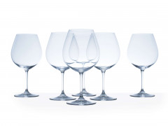 SIX VERRES A BOURGOGNE  RIEDEL