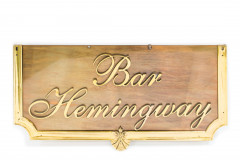SIGNALETIQUE DU BAR HEMINGWAY