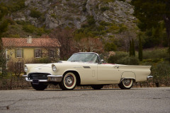 1957 Ford Thunderbird avec Hard-top