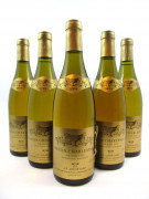 5 bouteilles CORTON CHARLEMAGNE 1994 Grand Cru