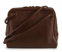 HERMÈS 2000  Sac TAN-TAN Veau Swift cognac Garniture métal plaqué or Usure aux angles  TAN-TAN bag Cognac Swift ca...