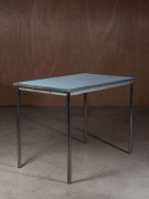 Charlotte PERRIAND, LE CORBUSIER & Pierre JEANNERET (1903-1999), (1887-1965) & (1896-1967) Table mod. B307 - Circa 1930 Piètement en...