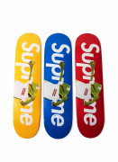 "Supreme x Terry RICHARDSON  Set de 3 planches de skateboard ""Kermit"" - 2008"