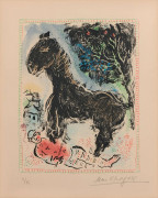 Marc CHAGALL 1887 - 1985 The little horse - 1972