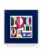 Yaacov AGAM Né en 1928 Forme - Couleurs - Relief - 1976 Thermoformage