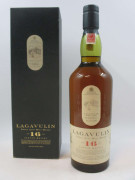 1 bouteille WHISKY LAGAVULIN 16 ans