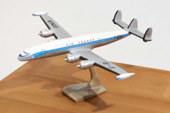 LOCKHEED SUPER CONSTELLATION-AIR FRANCE  Maquette d'agence