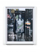 KAWS (Américain - Né en 1974) Christy Turlington- 2008 Affiche d'exposition Madison Fine Art 18 février - 15 mars 2000