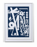 RETNA (Américain - Né en 1979) Untitled (Art Alliance Provocateurs Edition), 2014 Sérigraphie sur papier