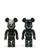 MEDICOM x ALIEN 3  Be@rbrick 1000% / Warrior Alien et Alien - 2017 (Set de 2) Vinyle