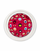 Takashi MURAKAMI Né en 1962 Flower Ball (3D) Red Ball - 2013-2014