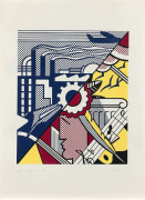 Roy LICHTENSTEIN 1923 - 1997 Industry and the arts (II) - 1969