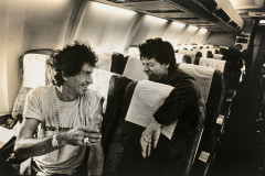 Claude GASSIAN Né en 1949 Keith Richard & Mick Jagger, Madrid-Marseille - 1990 Tirage argentique