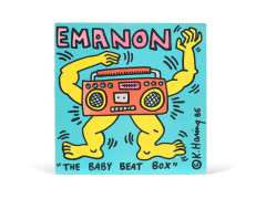 "Keith HARING 1958 - 1990 Emanon ""The baby beat box""- 1986Emanon / the baby beat box - 1986 Impression offset sur disque 33T et poche..."
