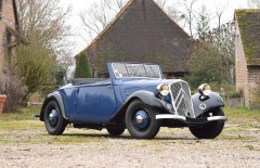 1934 Citroën Traction 7C cabriolet  No reserve