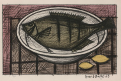 Bernard BUFFET (Paris, 1928- Tourtour, 1999) Nature morte - 1953