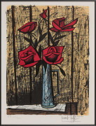 Bernard BUFFET (Paris, 1928- Tourtour, 1999) Bouquet de roses - 1982
