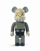 MEDICOM x KAWS  Be@rbrick 1000% / Companion (Brown) - 2006 ABS