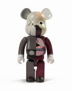MEDICOM x KAWS  Be@rbrick 1000% / Dissected Companion (red) - 2008 ABS