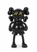 MEDICOM x KAWS  1st Companion / Real Mad Hectic Bownty Hunter (Black) - 1999 Vinyle