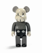 MEDICOM x KAWS  Be@rbrick 400% (Grey) - 2002 ABS