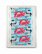 FAILE (Américains-Coll fondé en 1999) The best surprise you ever received Lithographie en couleurs