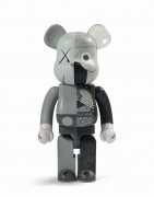 MEDICOM x KAWS  Be@rbrick 1000% / Dissected Companion (Grey) - 2010 ABS