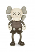 MEDICOM x KAWS  1st Companion / Real Mad Hectic Bownty Hunter (Brown) - 1999 Vinyle