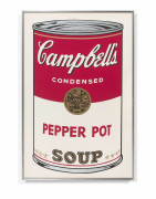 Andy WARHOL (1928 - 1987) Campbell's Soup (Pepper Pot) - 1968