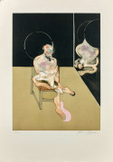 Francis BACON (1909-1992) Seated figure - 1983