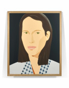 Alex KATZ (né en 1927) Christy (Turlington) - 2013