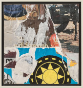 ¤ Mimmo ROTELLA (1918 - 2006) WHEELS - 1960-83 Décollage d'affiches