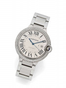 "CARTIER  Ballon Bleu ""After set Market"", ref. 3001, n° 24855RX"