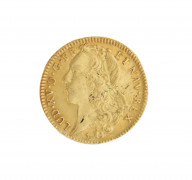 LOUIS XV (1715-1774) Double Louis