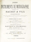 CATALOGUE NACHET & FILS