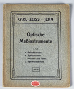 CATALOGUE DU FABRIQUANT ZEISS
