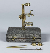 MICROSCOPE AQUATIQUE ATTRIBUE A P.&J. DOLLOND