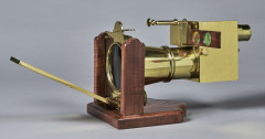 MICROSCOPE SOLAIRE DANS LE STYLE DE DE W.&S. JONES, LONDON