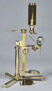 MICROSCOPE COMPOSE SUIVANT LE MODELE DE GEORGES ADAMS, THE IMPROVED MODEL