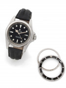 "ROLEX  Submariner ""Pointed Crown Guards"", ref. 5513, n° 1004685"