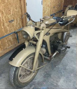 1944 Zündapp KS 750 Side-Car  No reserve