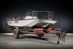 1980 Boston whaler Montauk 17'  No reserve
